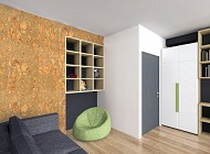 Acoustical Cork Wall/Ceiling Panels