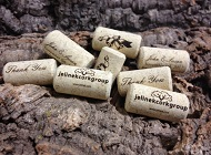 Custom Printed Wine Corks & Cork Card Holders
