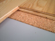 QuietCork Underlayment Sheets