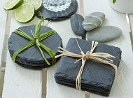 Slate Coasters and Tableware