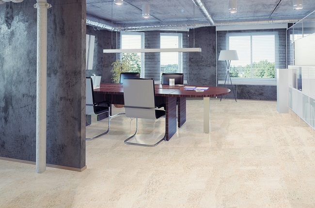 Cork Flooring Harmony White Warm