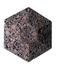 Contour Insulation Acoustical Cork Wall Tiles 3d Hexagon