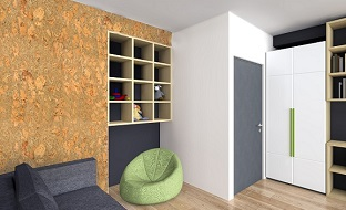 Cork Flooring Wall Coverings