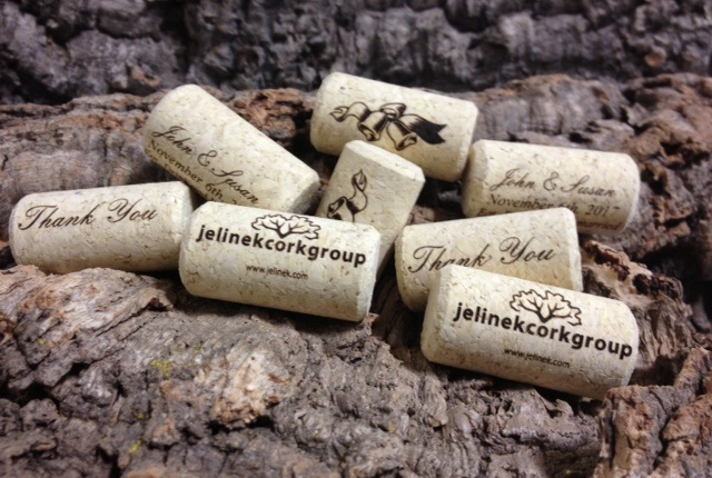 Custom Printed Personalized Wine Corks | Bag of 150 wine corks | Jelinek  Cork