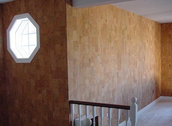 Cork Wall Covering : Cork wall tiles harmony jelinek