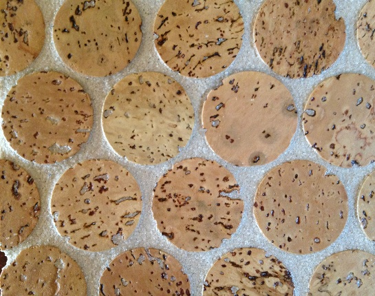 Jelinek Cork Mosaic Floor amp Wall Tiles Penny Round