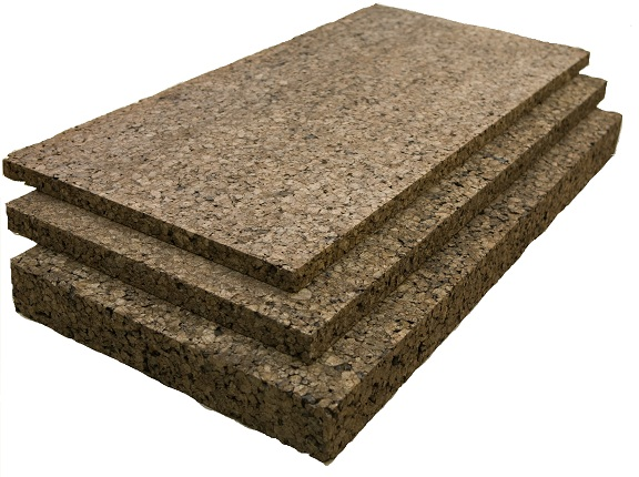 Semi rigid insulation cork sheets - Cork insulation home ...