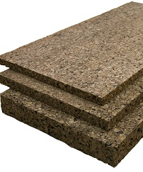 Semi Rigid Insulation Cork Sheets 2 Inch Thick Jelinek Cork